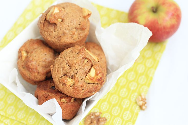 Gezonde appeltaartmuffins | Chickslovefood.com | Bloglovin'