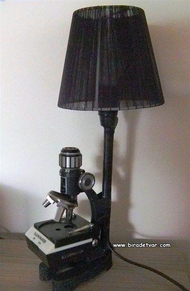 Microscope Design Lamp - info@biradetvar.com