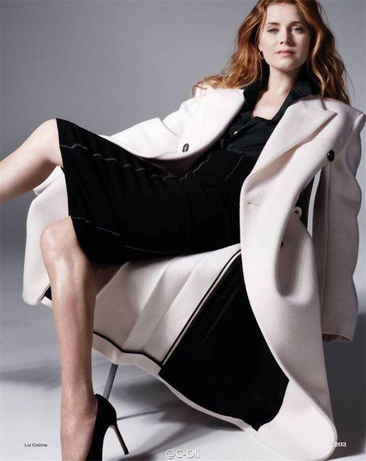 Эми Адамс в журнале Elle UK, ноябрь 2016.