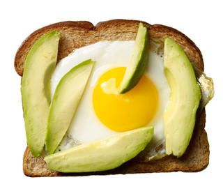 Egg and Avocado on Toast http://www.rodalewellness.com/food/healthy-breakfast-recipes?slide=16