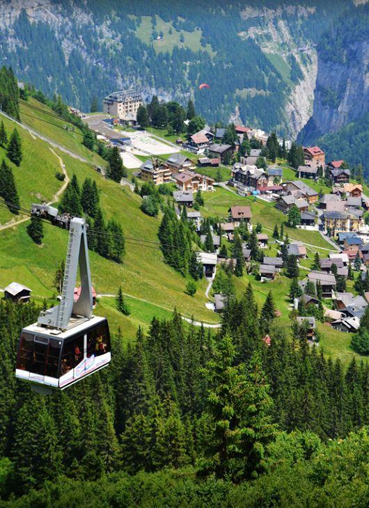 Mürren, Berner Oberland