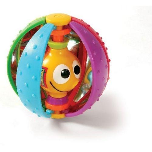 """Spin Ball — El Spin Ball ofrece una experiencia multisensorial. Con sus """"rodajas"""" que se deslizan forman un arco iris de colores que ayudan al bebé aprender a diferenciar los distintos colores."""
