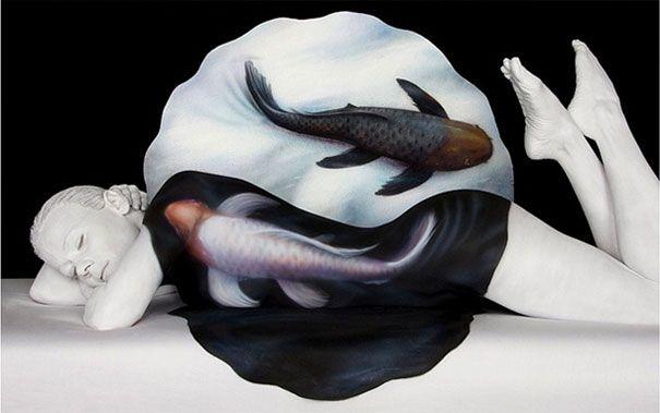Amazing Body Art Illusions by Craig Tracy