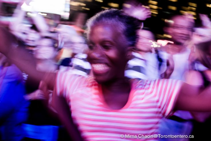 """""""Best Night Ever"""" she said while dancing during Sergio Mendes concert at Toronto Panama TO2015"""