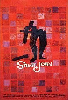 saint Joan Poster 1957