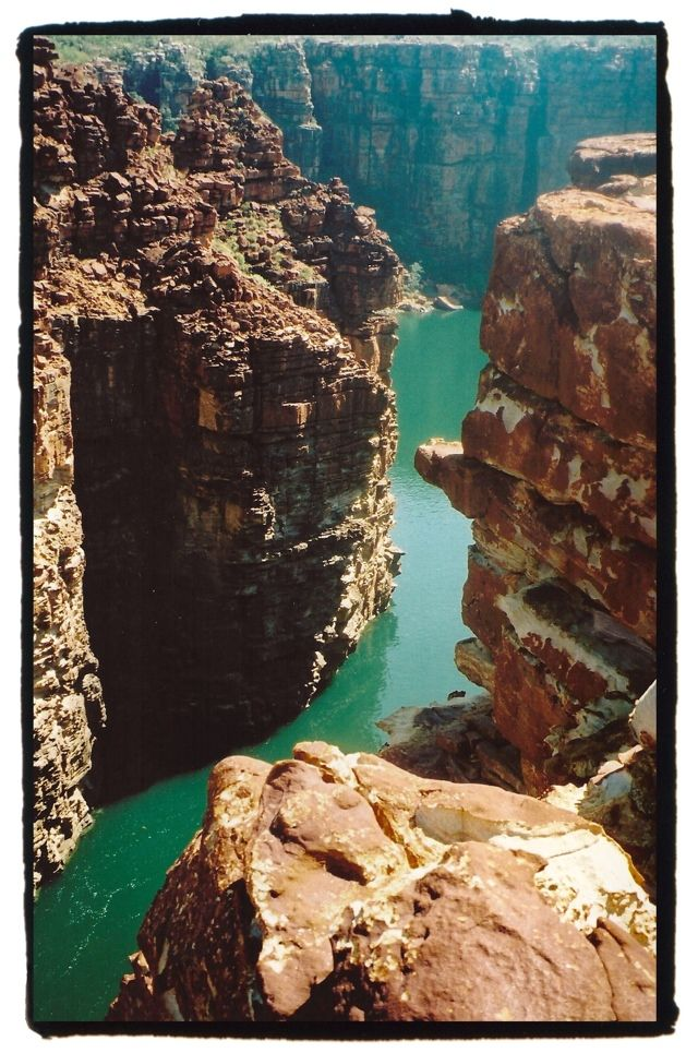 The Kimberleys Western Australia. King George River.  from atasteoftravel blog