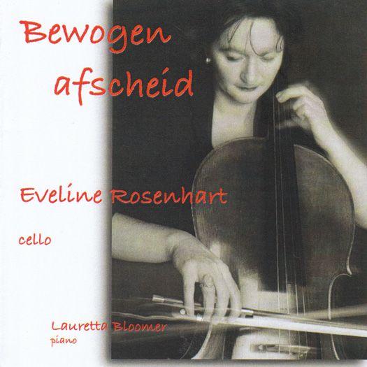 Klassieke muziek bij de uitvaart: Eveline Rosenhart (cello) en Lauretta Bloomer (piano).