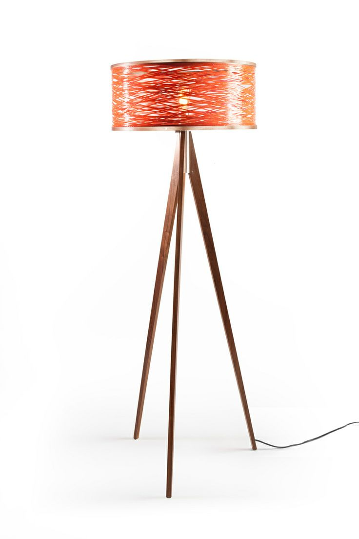 Just Modern, Inc. - Tripod Floor Lamp - Orange, $1,150.00 (http://www.justmoderndecor.com/lighting/tripod-orange-floor-lamp/)