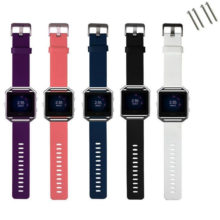 Sports Silicone Rubber Fitness Band Wrist Bracelet Strap For Fitbit Blaze