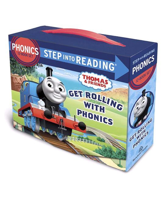 Thomas & Friends Get Rolling With Phonics Boxed Set