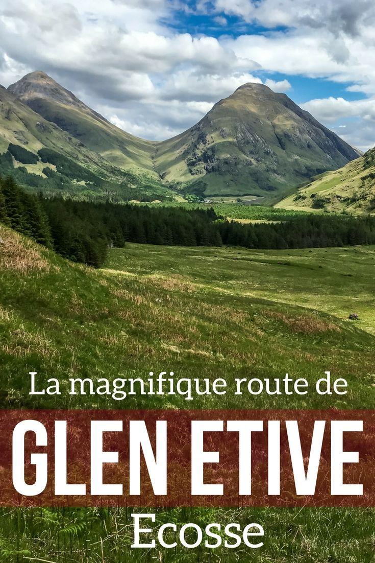 Découvrez une des plus belles routes de Highlands de l'Ecosse : la vallée de Glen Etive avec sa rivière, ses sommets impressionnants et au bout, le Loch Etive encore sauvage. Video, photos et infos pratiques  | Ecosse voyage | Ecosse paysage | Voyage Ecosse | Ecosse Highlands
