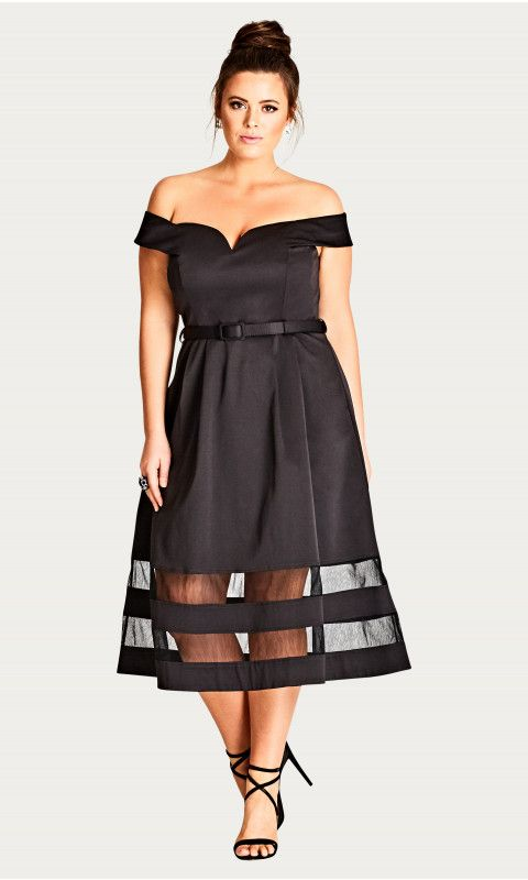 Shop Women's Plus Size Women's Plus Size Occasion Dress | City Chic USA