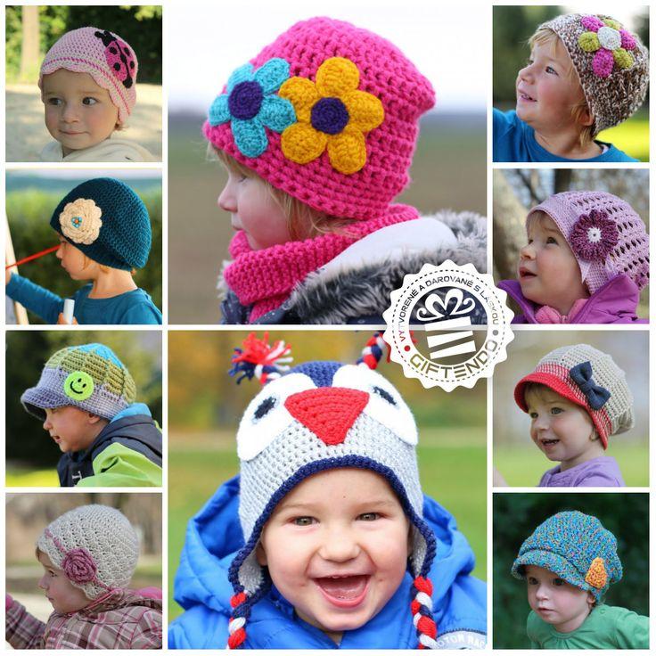 Široká ponuka jarných čiapočiek pre vaše detičky. Už od 9 Eur ! Neváhajte, jar je už predo dvermi. http://www.giftendo.sk/motulka