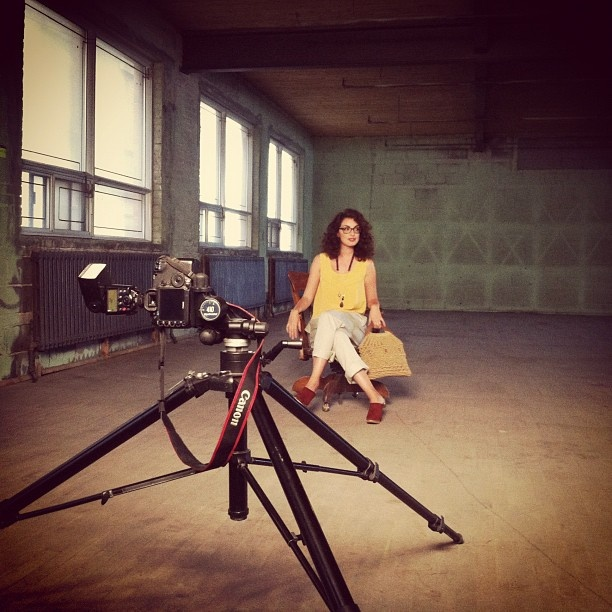 Behind the Scenes W/ @uneparisienneamontreal  for our Montreal SWAP Look Book. Stay tuned !