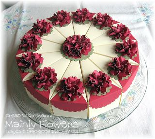 Mainly Flowers Independent Stampin' Up! Demonstrator Joanne Gelnar: Cardboard Cake and Biggin Hill