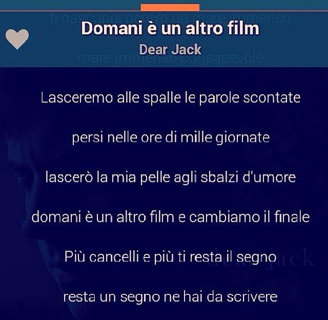 Dear Jack - Domani è un altro film