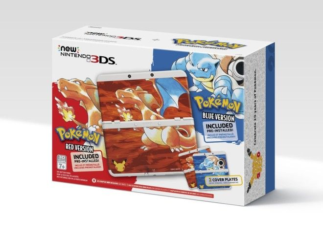 Pokemon Red & Blue 3DS Bundle Coming for 20th Anniversary