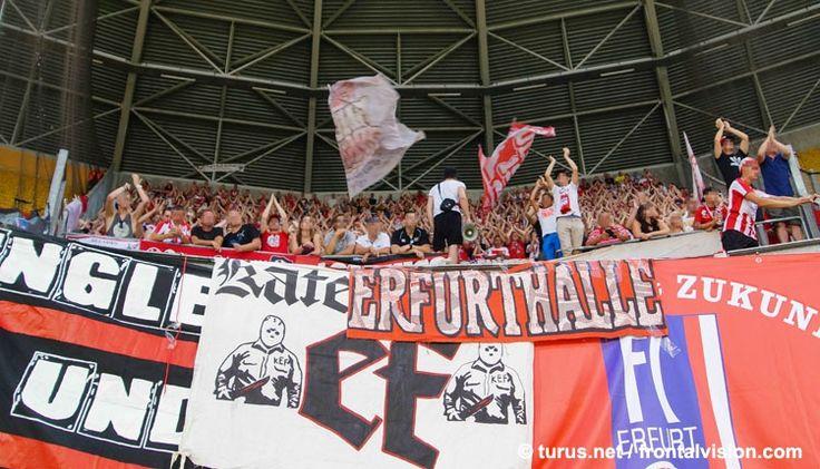 FC Rot-Weiß Erfurt bei Dynamo Dresden