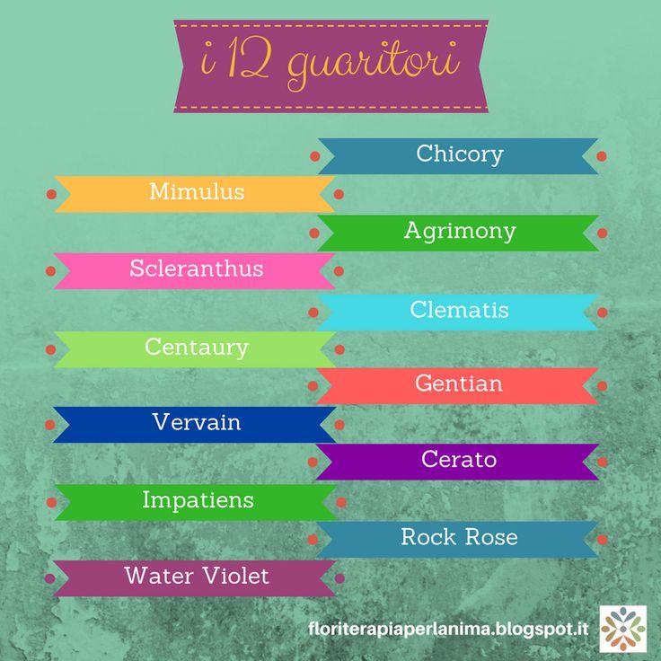 I 12 rimedi tipologici, i più spiritualizzati, i fondamentali dei Sistema di Bach.