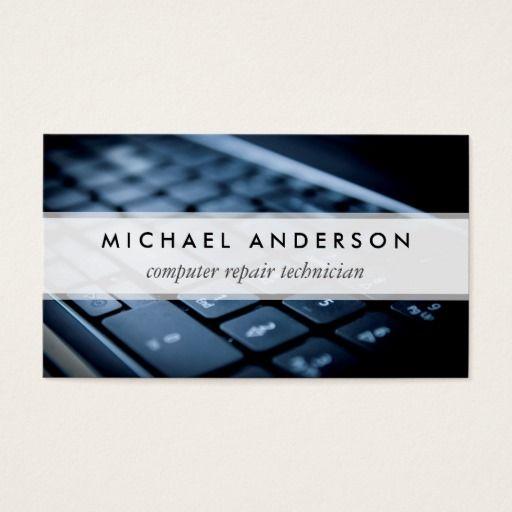 The 154 best computer repair business cards images on pinterest desktop laptop computer repair technician business card colourmoves