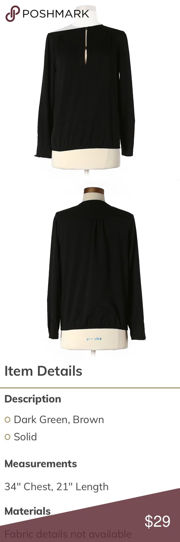 EUC 🎉 Zara Long Sleeve Top This will SHIP AFTER winter vacation. ❄️🎄(Approx. Jan. 4, 2018). 📦📫 Zara Tops Blouses