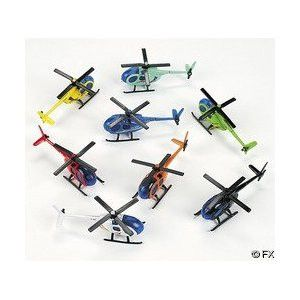 Die Cast Helicopters | 12ct