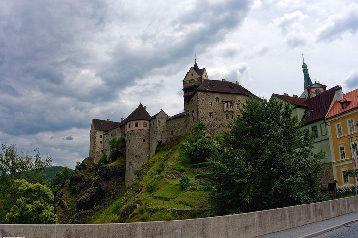 Burg Loket bei Karlsbad in Tschechien