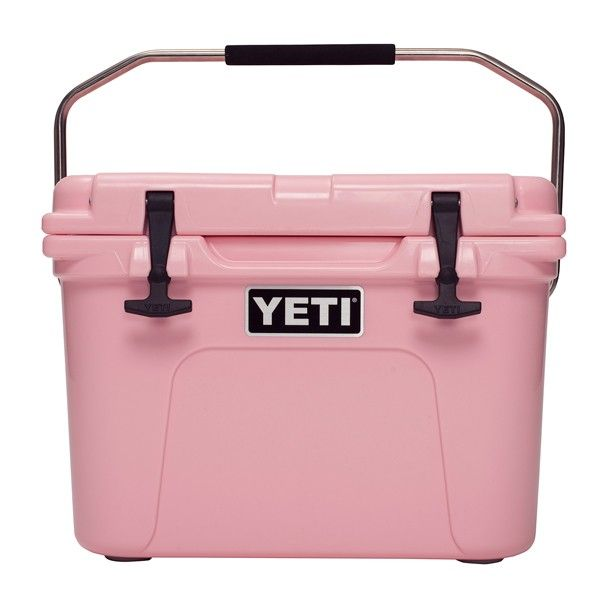 Ultimate girl river experience, Pink Roadie 20 Cooler,