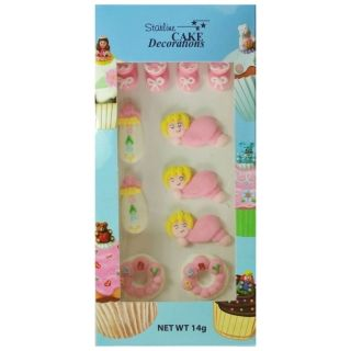 BABY GIRL 2D BOX OF 11
