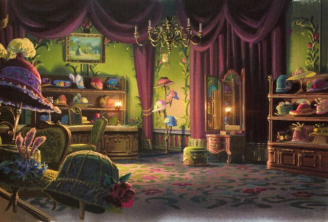 The Art of Studio Ghibli - Backgrounds and Story Sketches - Howl's Moving Castle: Sophie's Hat Shop