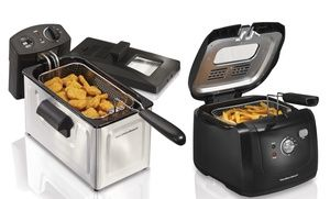Groupon - Hamilton Beach Cool Touch or Professional Deep Fryers. Groupon deal price: $34.99
