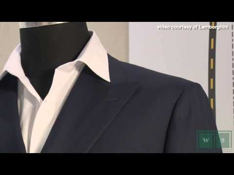 Lamborghini & d'Avenza collaborate to offer tailor-made suits and cars - YouTube