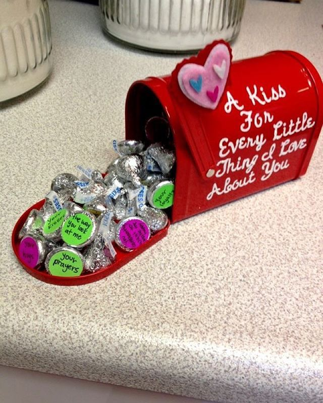 I've seen SO MANY of these mini Valentine boxes in Targets Dollar spot! Have you guys spotted them yet? My husband LOVED his when I sent one to him on his last deployment. ☺️