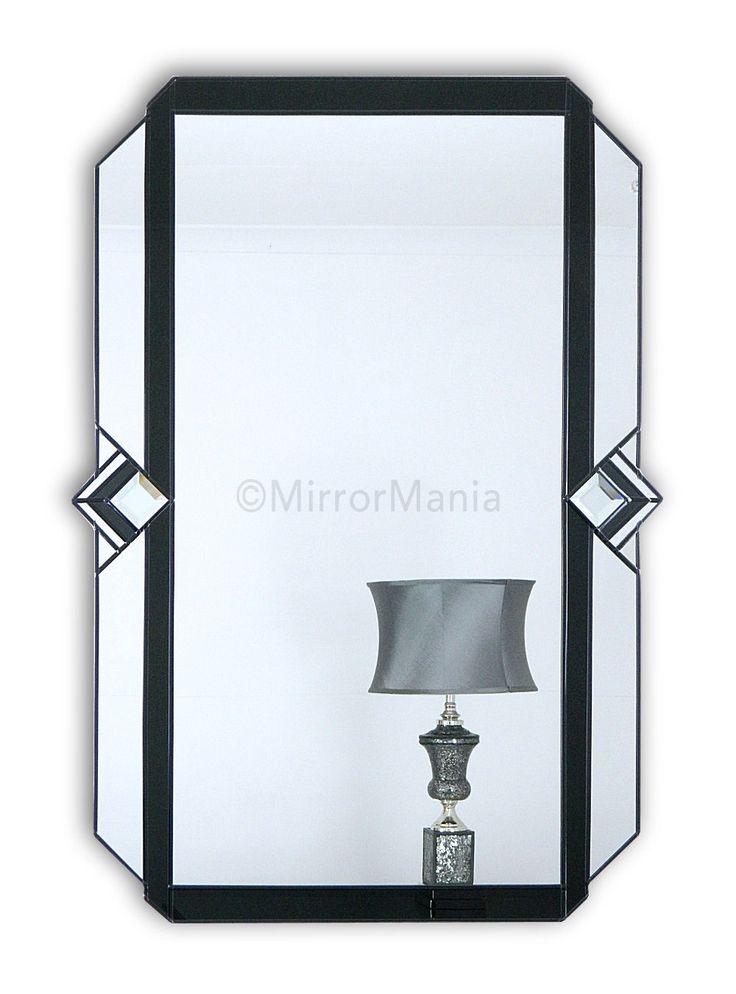 Art Deco Wall Mirror decadence original handcrafted art deco wall mirror - art deco