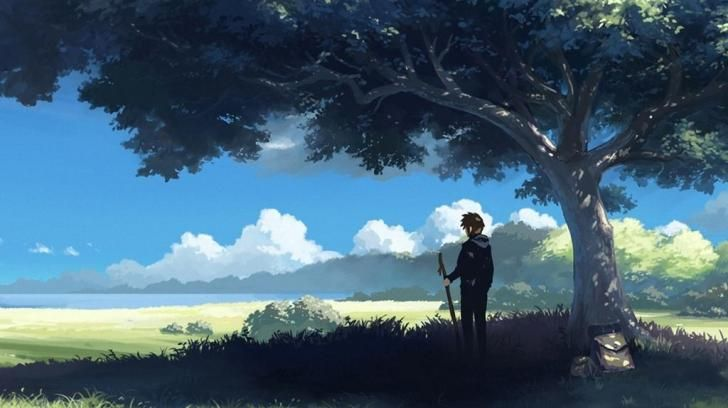 anime nature HD Wallpaper - (#10530) | Anime | Pinterest ...