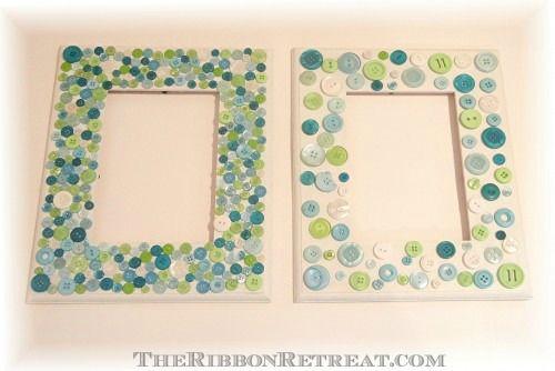 Button Frames - {The Ribbon Retreat Blog}
