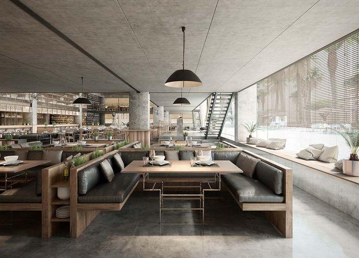 Best of Week 16/2016 - Hurghada Restaurant by Berga&Gonzalez - Ronen Bekerman - 3D Architectural Visualization & Rendering Blog