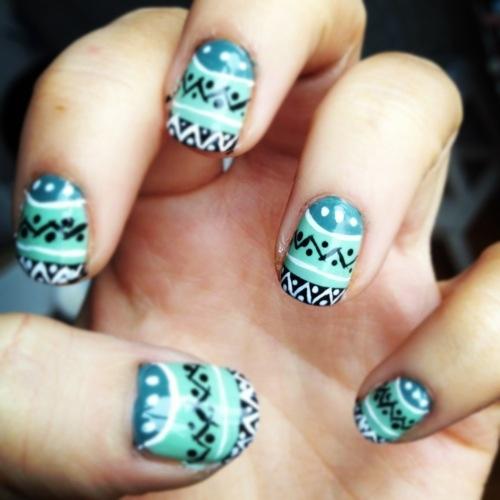 Flicking awesome nails