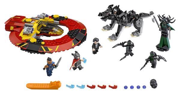 LEGO Thor: Ragnarok Sets Coming this Summer!