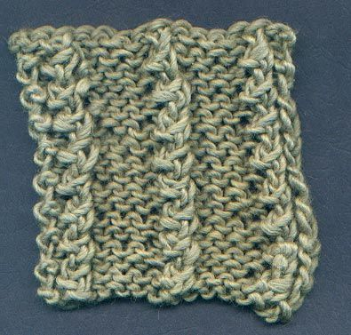Flat Knot Knitting Stitch : 17 Best images about Knitting stitches on Pinterest Ribs, Knit patterns and...