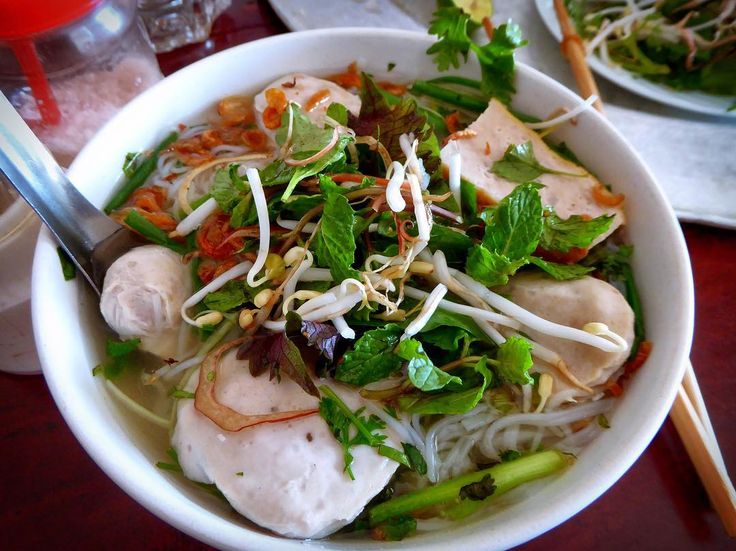 Noodle soup with pork in the countryside out of Saigon.#saigon #vietnam #soup #pork #noodles #food #lunch #yummy #delicious #eat #streetfood #foodadventures #tastetravel #tastetravelfoodadventuretours #sunshinecoast #australia #holiday #vacation #instafood #instagood #followme #localsknow #cookingclass #foodie #foodietour #foodietravel