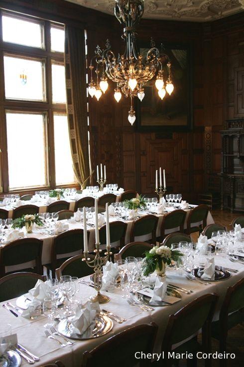 Tjolöholm wedding dinner setting 554