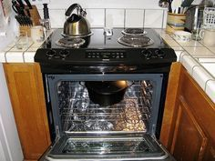 25 best ideas about gas stove cleaning on pinterest gas for Oven cleaner on kitchen countertops