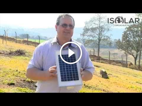 Eletrificador com Energia Solar - Isolar - Beneficios                                           Eletrificador Isolar com alimentação solar. Zero gasto em energia elétrica, facilidade para instalar, pois vem com kit (eletrificador+bateria +placa). Permite maior mobilidade ao dividir os piquetes, além de ter possibilidade de se transformar em fonte... construindo painel fotovoltaico, construindo painel solar, construindo painel solar caseiro dicas células fotovoltaicas,