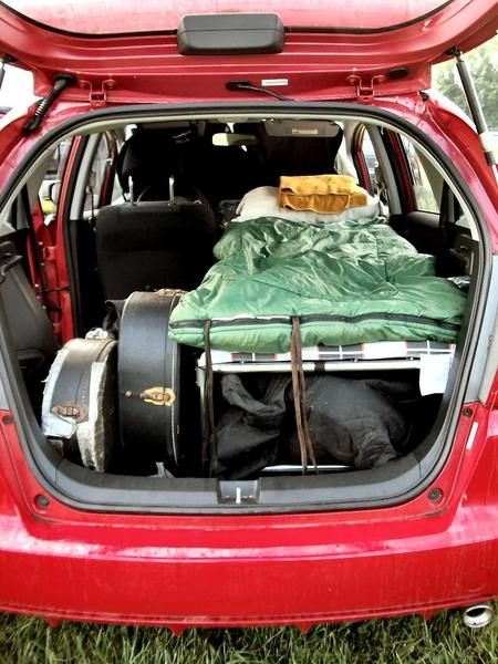 Anyone Sleep in their fit? v. Camping - Page 4 - Unofficial Honda FIT Forums