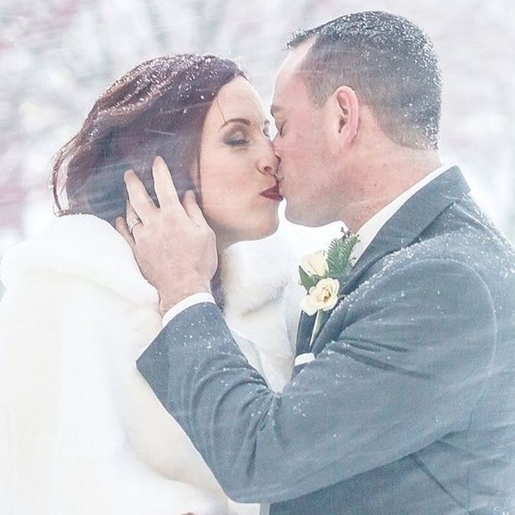 This Couple Refused To Call Off Their Wedding On Account Of The Blizzard