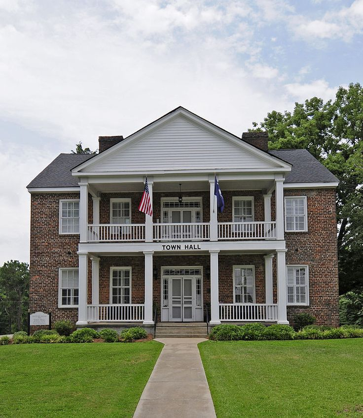 Century House in Fairfield County, South Carolina. (With