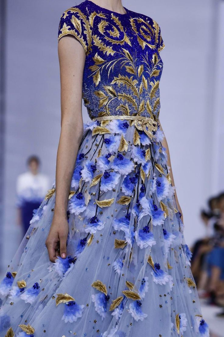 So beautiful. Someday i will go somewhere fancy enough for this kind of gown. Georges Hobeika Couture Fall Winter 2015 Paris