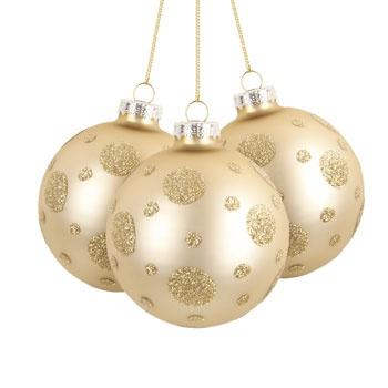 Navidad en Zara Home del Boulevard Jockey!!! Bola de Navidad Valenz (Set de 3)