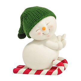 """Department 56: Products - """"Skiing On Candy Canes Figure"""" - View Products"""